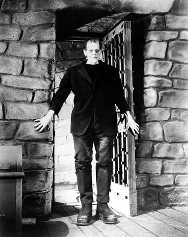 Frankenstein on screen