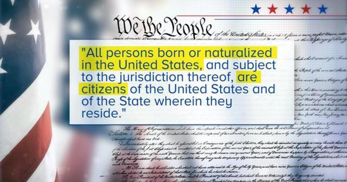 President plans executive order ending birthright citizenship
