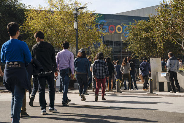 Google Employees Stage Walkout To Protest Company's Actions On  Sexual Harassment