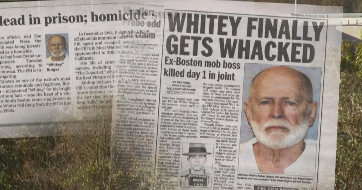 Family of Whitey Bulger sues U.S. government for wrongful death