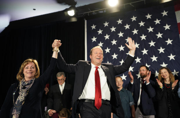 Gubernatorial Candidate Jared Polis And Colorado Democrats Hold Election Night Event