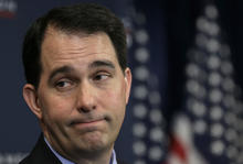 Governor Scott Walker Speaks At American Action Forum In D.C.