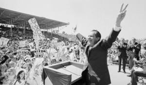Richard M. Nixon's election victory