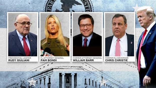 Chris Christie being considered to replace Jeff Sessions as attorney general