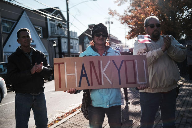 Veterans Day Parade  Honors Military Service In Milford, CT