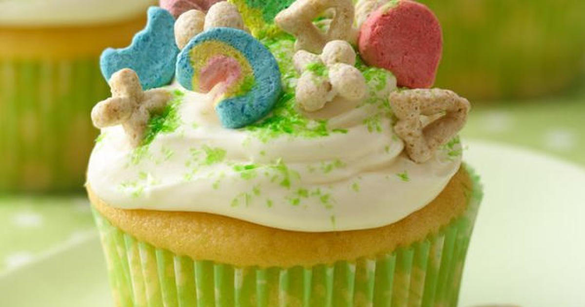 Recipe: Lucky Charms Cupcakes