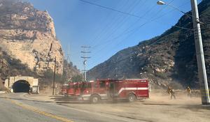 California firefighters battle dry conditions, relentless winds fueling deadly wildfires