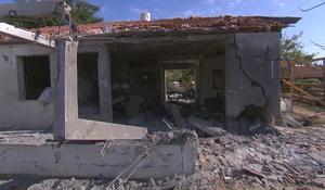 Israeli family describes close call when Hamas rocket landed on house