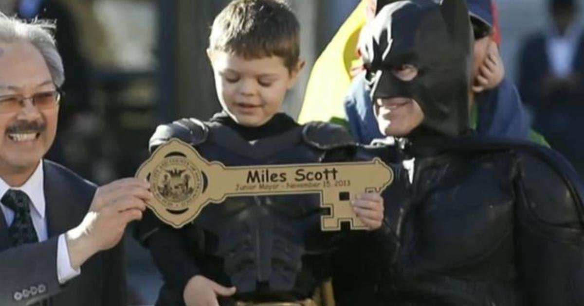 Batkid declared cancer-free 5 years after