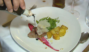 "Balsamic vinegar, the ""black gold"" of Modena"