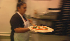A heartwarming slice of life: Pizza made and served by the deaf