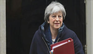 Prime Minister Theresa May says change in leadership will not affect Brexit