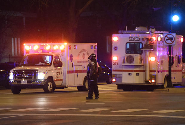 Chicago police search Mercy hospital after reported shooting incident