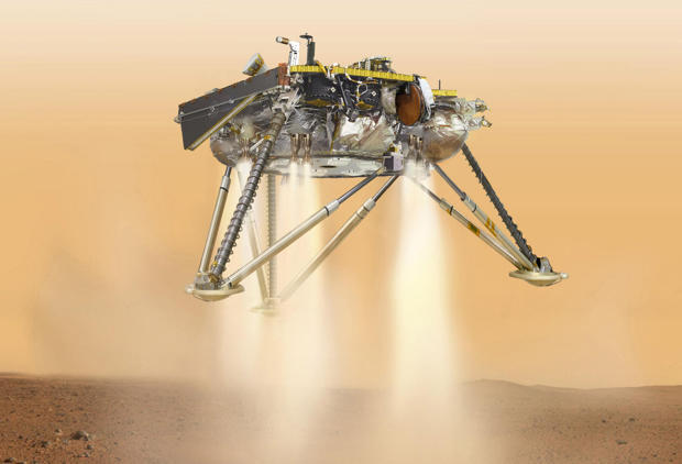 NASA Mars lander on course for Monday touchdown