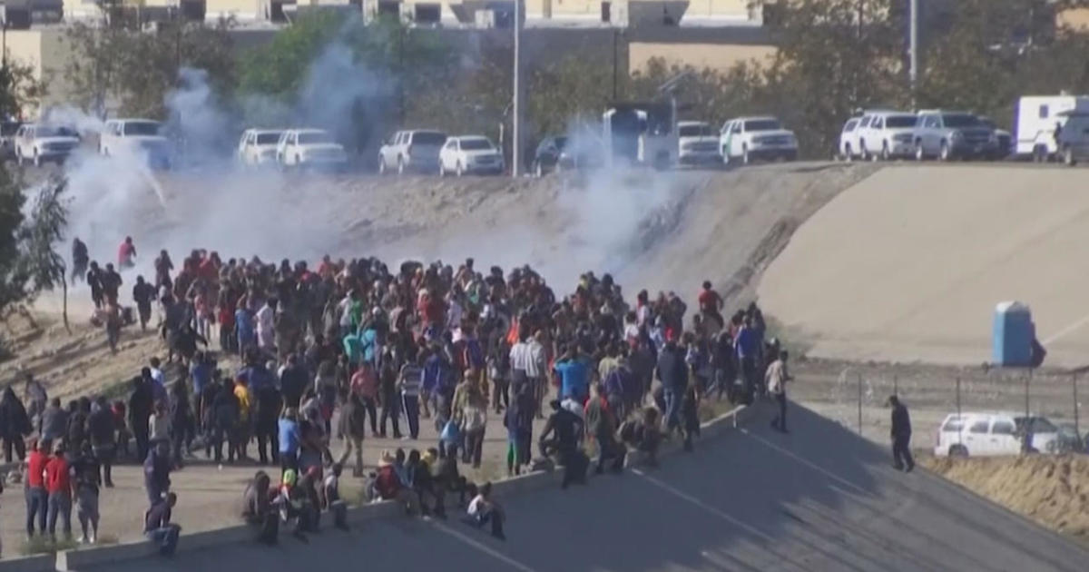 busiest u s mexico border crossing reopens after violent clashes