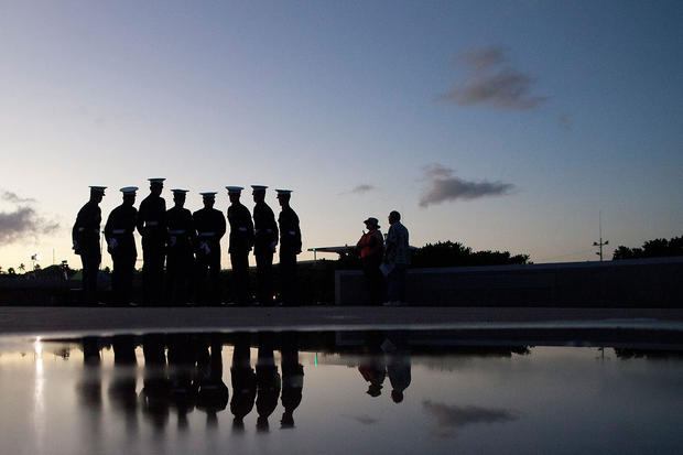 70th Anniversary Of Pearl Harbor Attack Commemorated In Hawaii