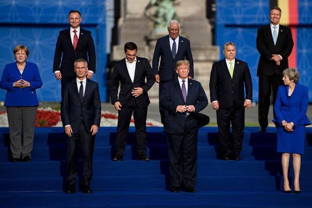 TOPSHOT-BELGIUM-NATO-DEFENCE-POLITICS-SUMMIT