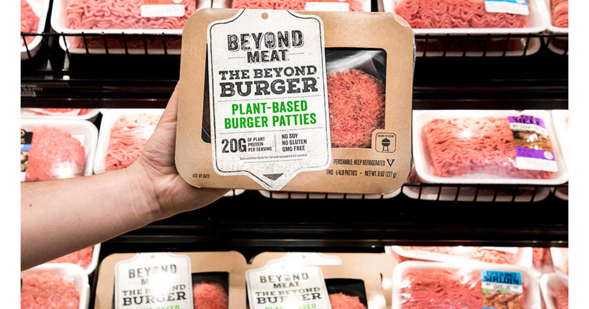 Beyond Meat IPO gives veggie burger company a $1 5 billion market