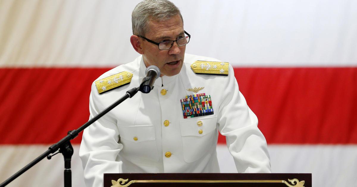 U.S. Navy admiral found dead in apparent suicide