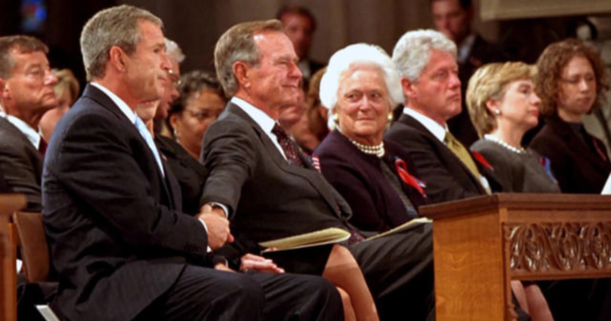 The Gesture George H W Bush Offered His Son At A Memorial Service
