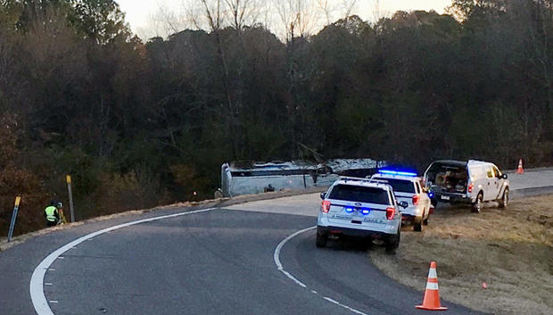 Charter Bus Crash Arkansas