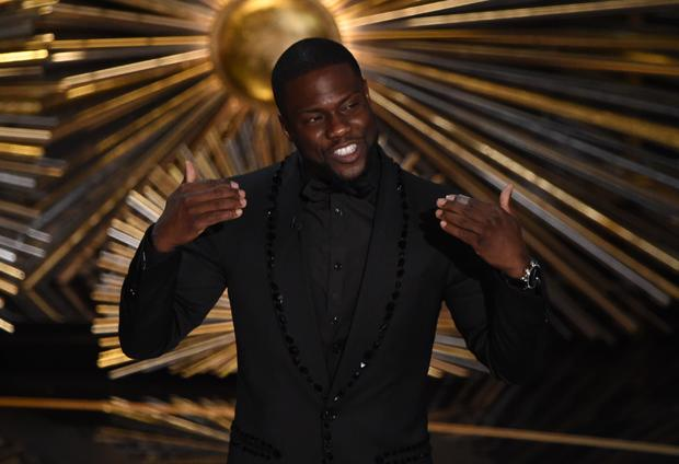 Kevin Hart at the Oscars