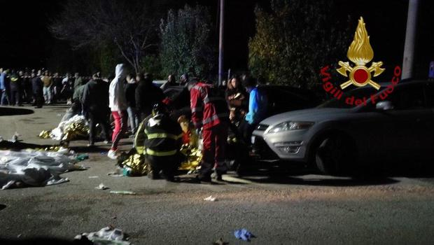 Multiple deaths reported at Italian nightclub