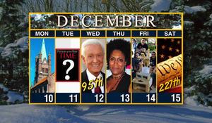 Week of December 10