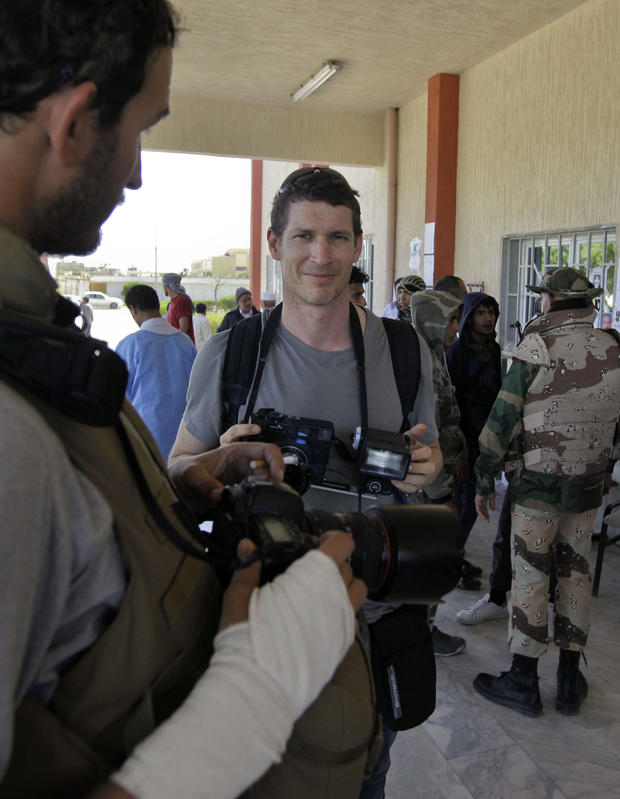 Mideast Libya Tim Hetherington