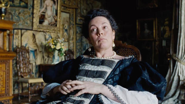 Olivia Colman On Playing Royalty In -4501