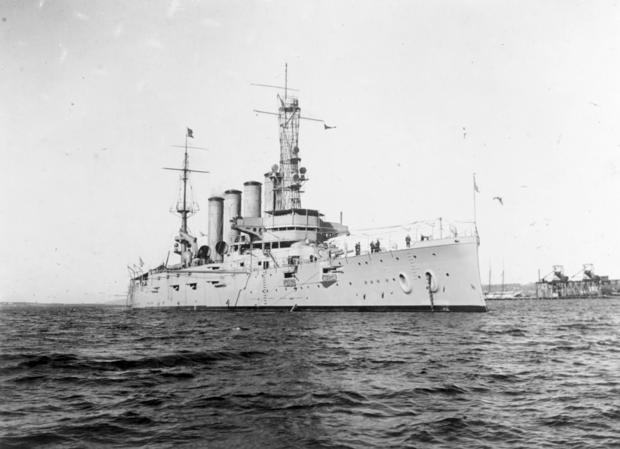 Sunken Warship Mystery