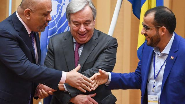 SWEDEN-YEMEN-CONFLICT-PEACE-TALKS