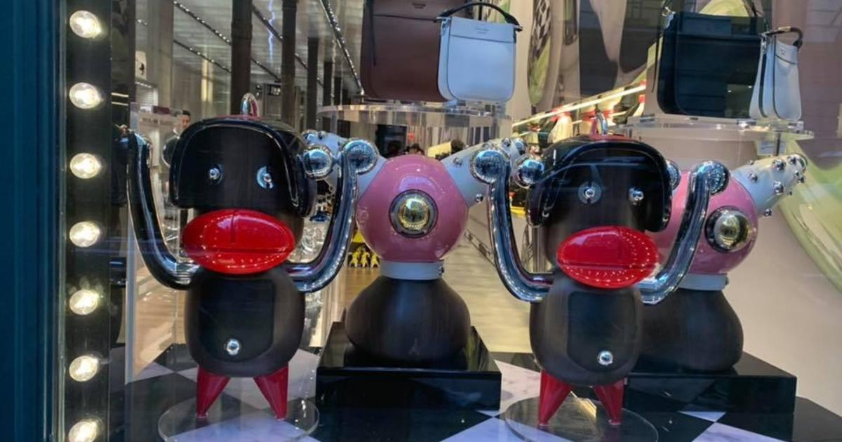 a500670987 Prada blackface: Luxury brand Prada accused of using blackface imagery at  NYC store and online; Pradamalia characters feature a black figure with big  red ...