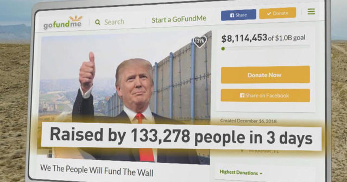Veteran raising millions on GoFundMe for Trump's border wall