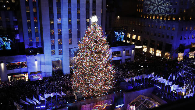 86th Annual Rockefeller Center Christmas Tree Lighting Ceremony