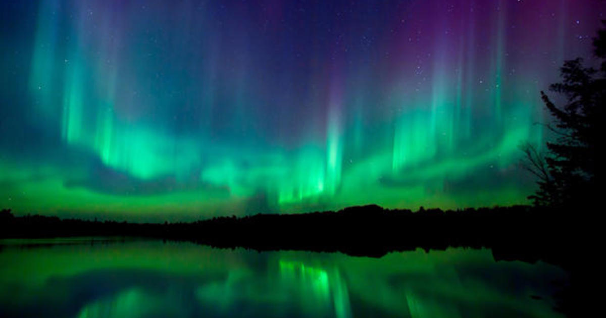 U S No Longer Expected To Have Rare Chance To Spot Northern Lights Cbs News