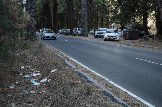 Trash, toilet odor build at national parks amid government shutdown