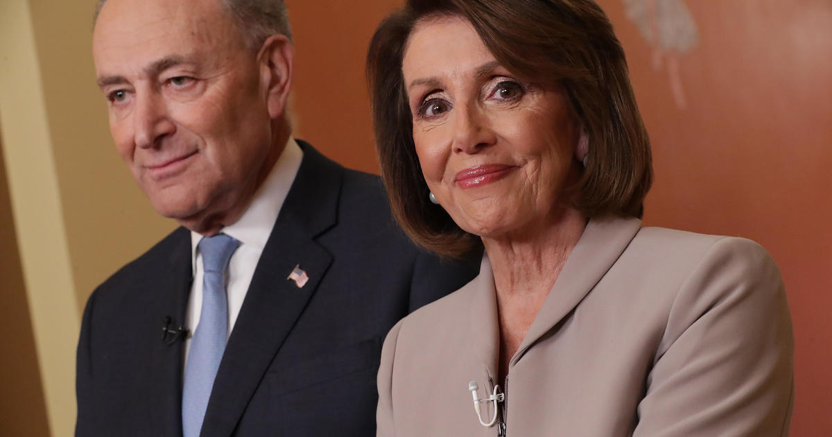 Nancy Pelosi and Chuck Schumer hold press conference on gun violence and background check bill