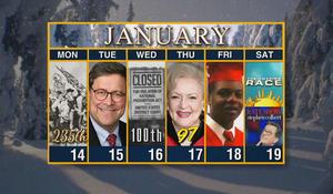 Week of January 14