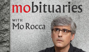 """""""Mobituaries"""": Mo Rocca's irreverent podcast to debut with intriguing stories of past lives"""