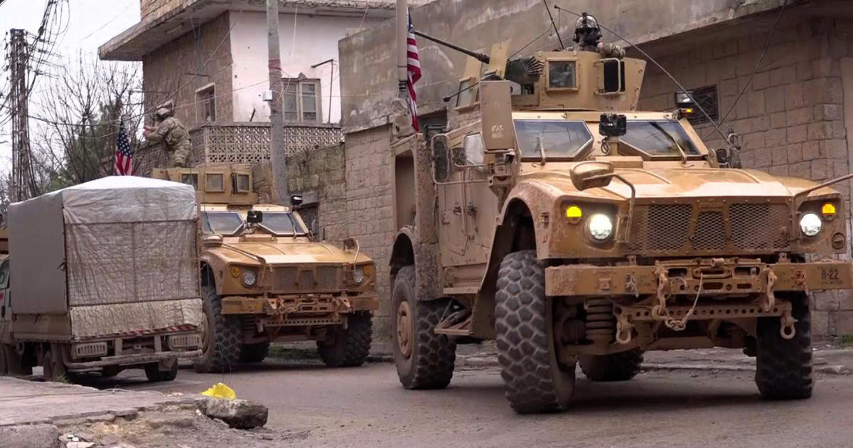 Syria bombing today kills U.S. troops in Manbij attack claimed by ISIS near Turkey