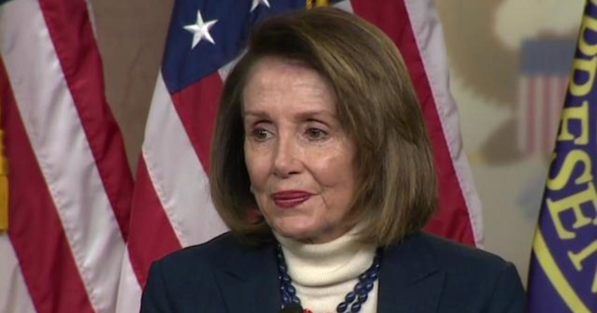 Trump cancels Pelosi trip: President Trump sent a letter informing House Speaker's military airplane for overseas trip canceled, retaliating for State of the Union postponement request - CBS News