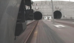The English Channel Tunnel