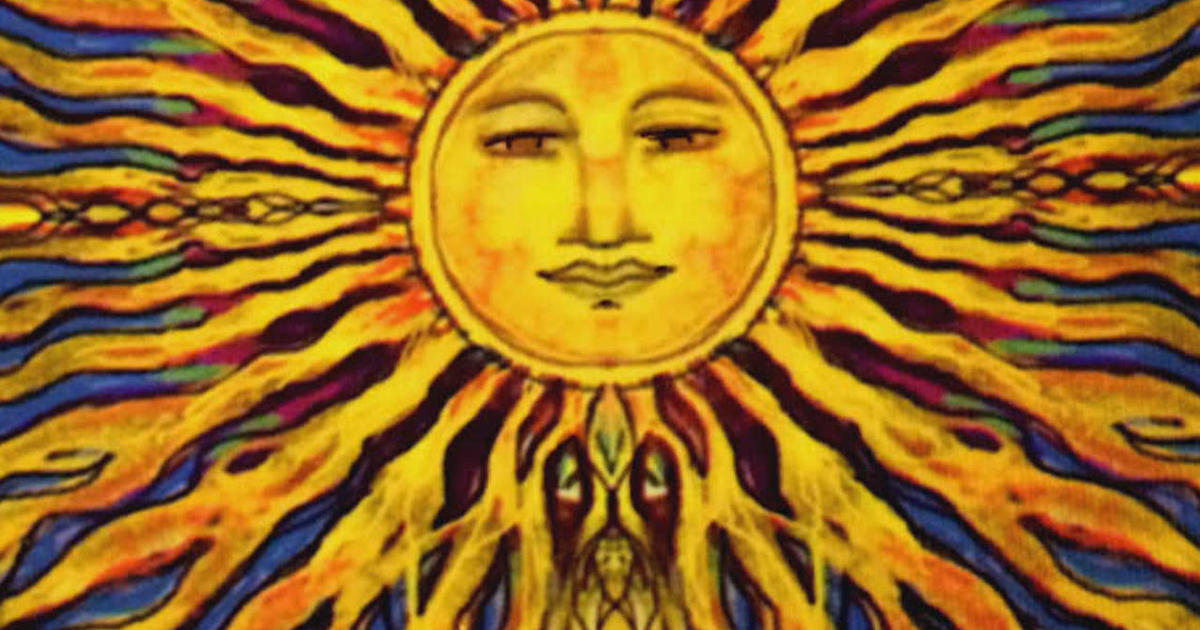 Sun art - Here comes the sun!