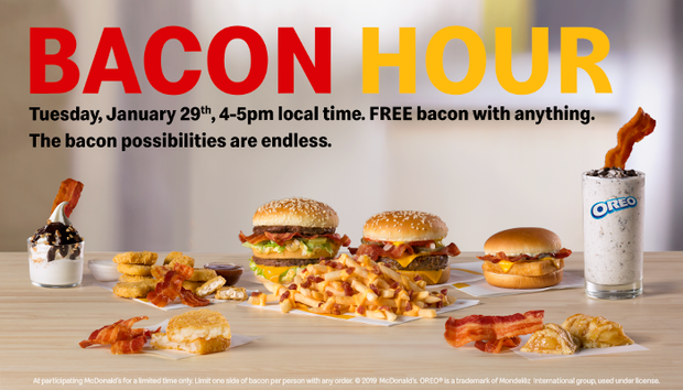 Wendy's Offering Free Baconators To Door Dash Users This Week