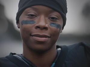Super Bowl ad features aspiring female NFL player
