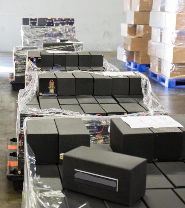 Meth drug bust: Record 1 7 tons of meth found hidden in loudspeakers