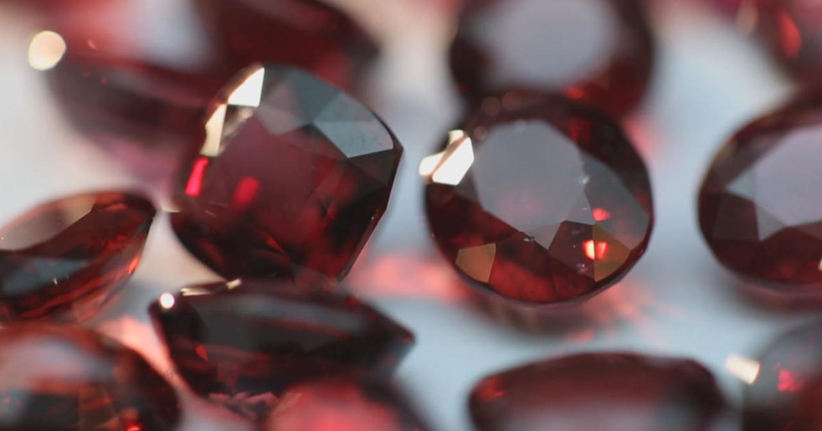 Rock stars: Diamonds may be a girl's best friend, but blood