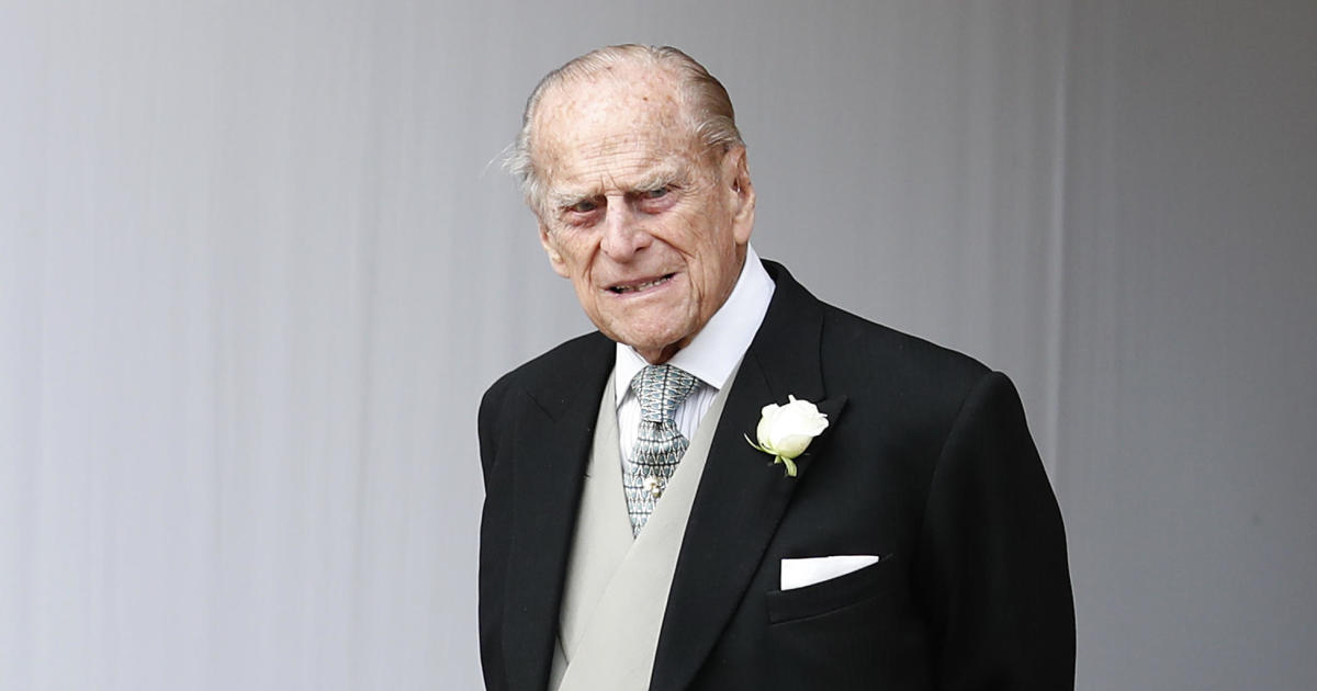 Prince Philip admitted to hospital after feeling unwell, Buckingham Palace says - CBS News