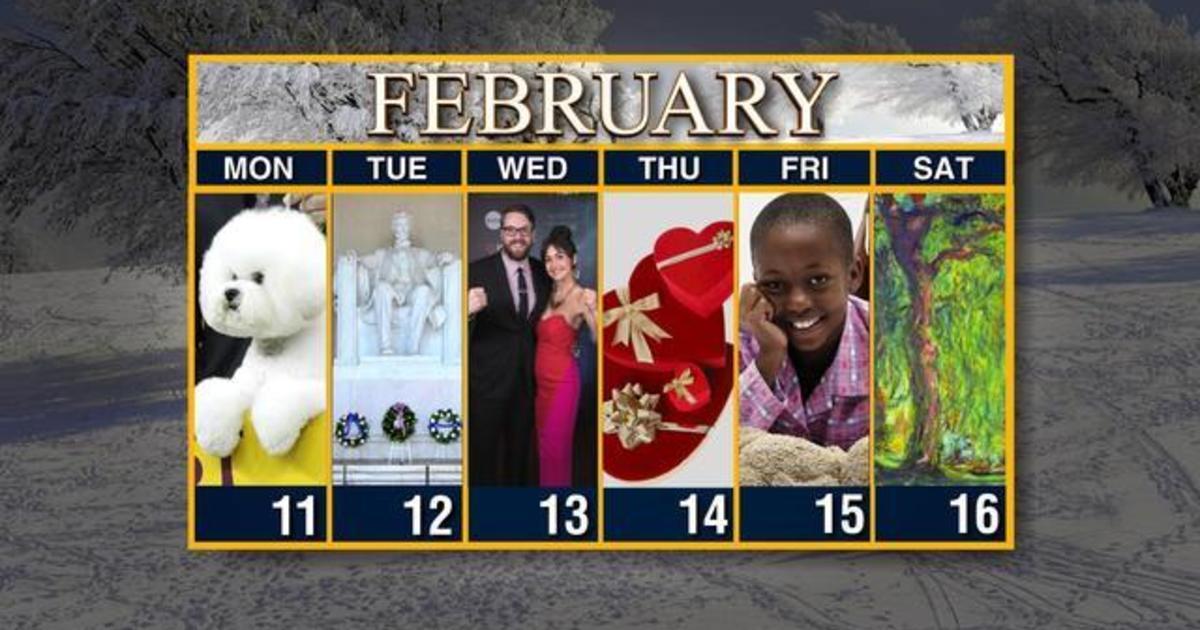 Chick Fil A Calendar Card February 2020 Calendar: Week of February 11   CBS News